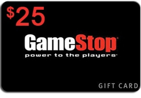 $25 GameStop gift card