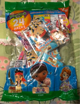 Play Pack Mini 24 Packs For Birthday Party