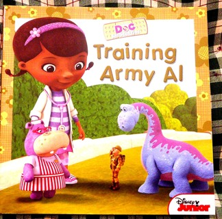 "Disney Junior, ""Doc...Training Army Al"" Children's Book"