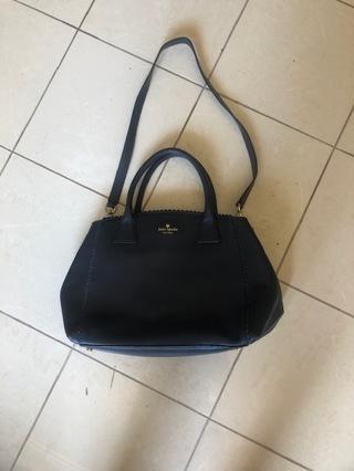 Kate Spade blue scalloped purse