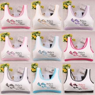 Lovely Girls Printed Underwear Bra Vest Children Underclothes Sport Undies Bra
