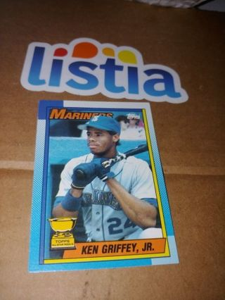 """THE KID"" KEN GRIFFEY JR⭐SEATTLE MARINERS⭐1990 TOPPS ALL-STAR ROOKIE CARD⭐FREE $HIPPING"