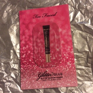 Free: Too Faced Glitter Glue - Sample - Eye Makeup - Listia