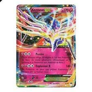 XERNEAS EX ULTRA RARE HOLO BLACK STAR POKEMON CARD>POKEMON CARDS