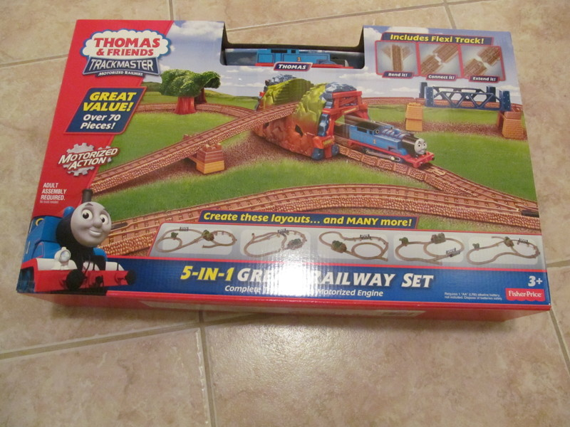 thomas the train trackmaster 5 in 1 instructions