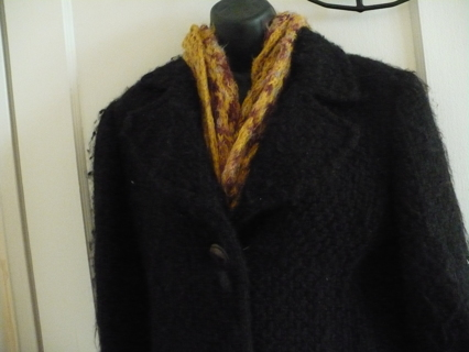 New coat by designer Philosophy di Alberta Ferretti SZ 10, made in Italy