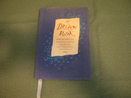 The Dream Book by Gillian Kemp (((Hard Cover Edition)))