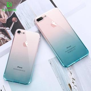 FLOVEME For iPhone 6 6S iPhone 7 8 Plus Ultra Thin Cases for iPhone X XS Max XR Clear TPU Phone Ca