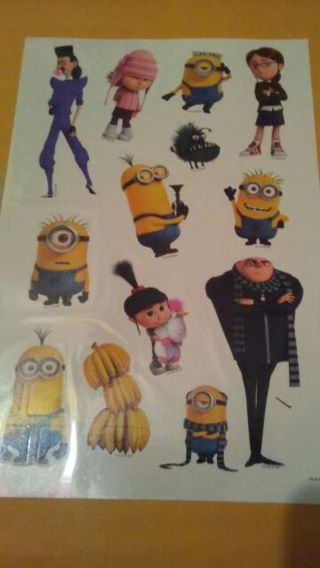 Despicable me 3 tattoos