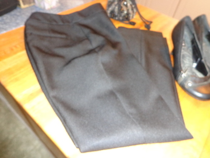 Louis Vuitton Uniform Black Slacks  sz. 2