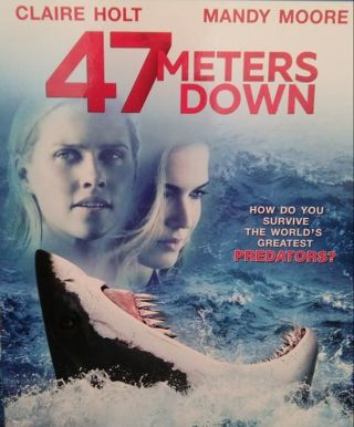 47 METERS DOWN Digital movie code