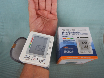 Blood Pressure Monitor, LCD Large Screen- FDA Approved - New