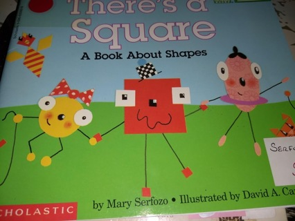 There's a Square, a Book About Shapes
