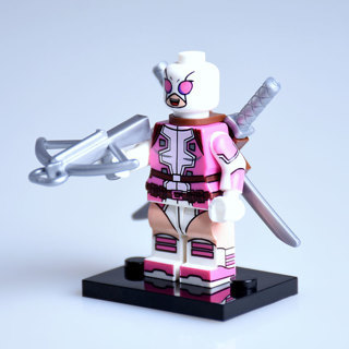 [GIN FOR FREE SHIPPING] New Gwen Pool Minifigure Building Toy Custom Lego
