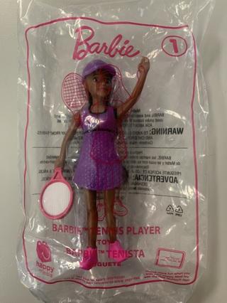 Barbie McDonald's Toy #1