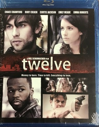 2010 Twelve Blu-ray Movie DVD-Starring 50 Cent-New & Sealed