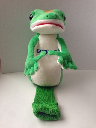 free geico gecko gekko golf club head cover plush free golf