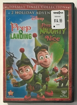Disney Prep & Landing Totally Tinsel Collection 2 Holiday Adventures DVD - Brand New Factory Sealed!