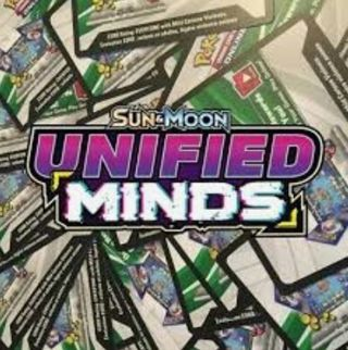 Pokemon Unified Minds Online Booster Pack Code Card! -Digital Delivery