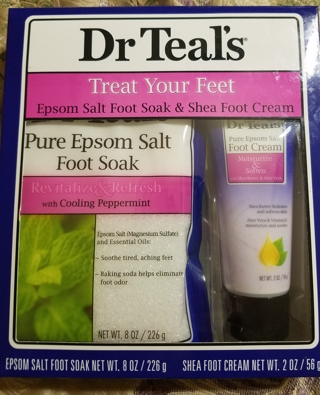 DR. TEALS TREAT YOUR FEET