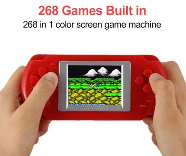 Mini Video Game Console With 268 Different Games