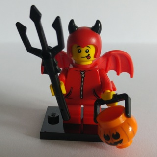 New Little Devil Minifigure Building Toys Custom Lego