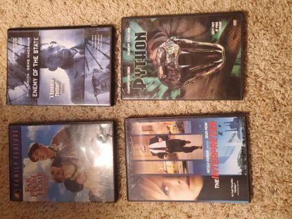 17 dvds