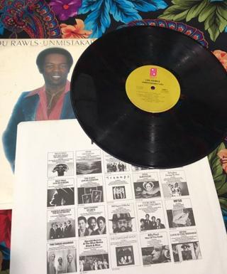 Lou Rawls ♫ Unmistakably Lou ♫ 1977 Philadelphia International Records Vinyl LP