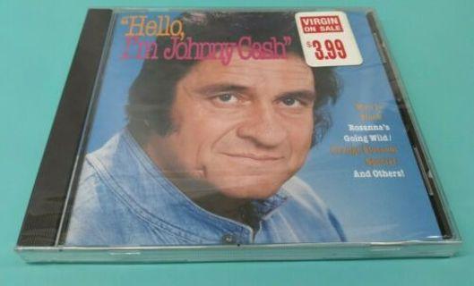 Hello, I'm Johnny Cash: Sealed CD Music
