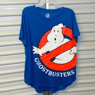 NEW Ghostbusters Womens SOFT Tee Shirt Top Plus XL 15/17
