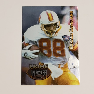 Horace Copeland 1995 Playoff Prime #122 Buccaneers