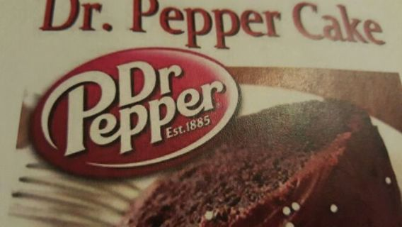 Dr Pepper cake recipe