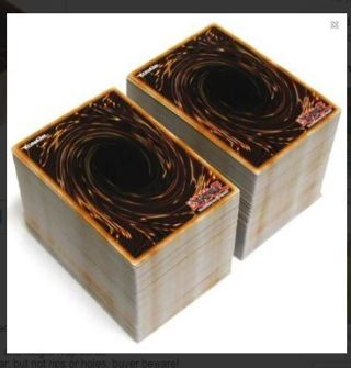 (200) YUGIOH CARDS GUARANTEED HOLOS YU-GI-OH TCG FREE SHIPPING