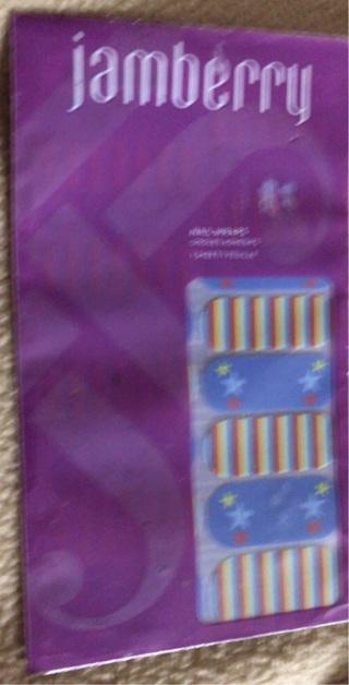 Austisum Awareness Jamberry Wrap.