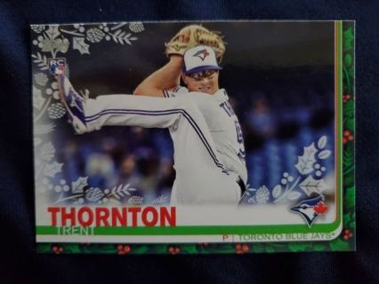 2019 Topps Holiday Rookie Trent Thornton