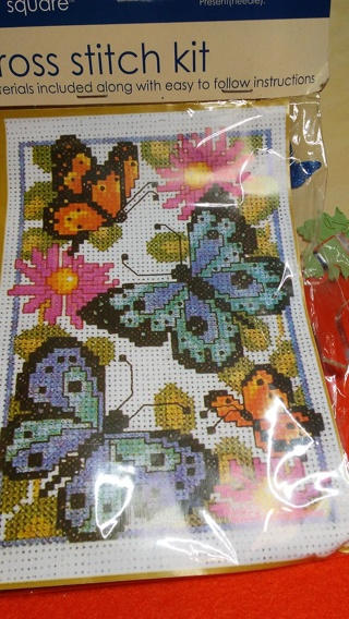 ~~BN BUTTERFLY CROSS STITCH KIT~~