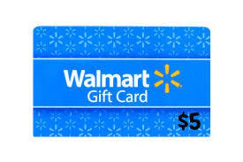 $5 Walmart eGift Card code