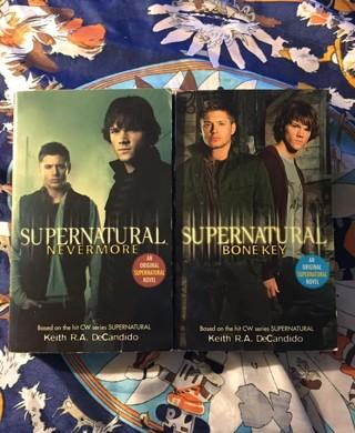 Supernatural Paperbacks