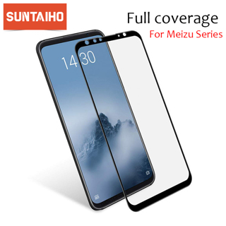 Suntaiho 9H Full Cover Tempered Glass for Meizu 16th 16thPlus Screen Protectorfor Meizu Pro6 E3