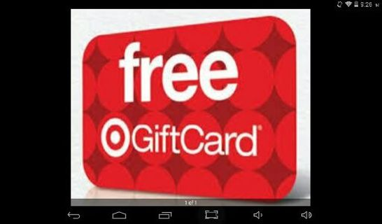 Target $5 giftcard