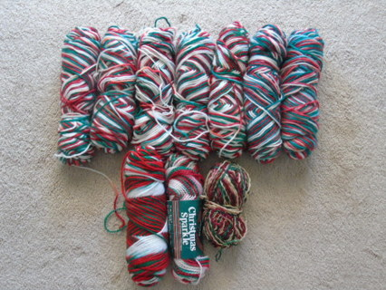 Yarn -  Christmas lot