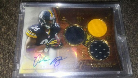 Le'Veon Bell TTT Rookie Auto Relic 33/99 Made Steelers