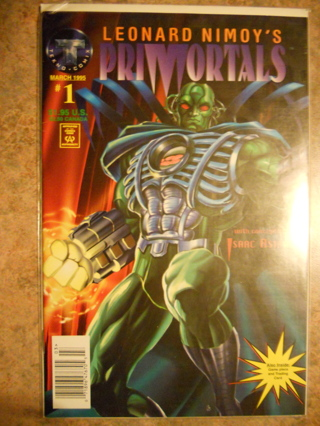 ATTENTION TREKKIES! LEONARD NIMOY'S PRIMORTALS ISSUE #1 1995