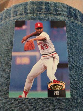 Baseball Card - Ken Hill 1992