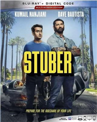 Stuber digital movie code from Blu Ray