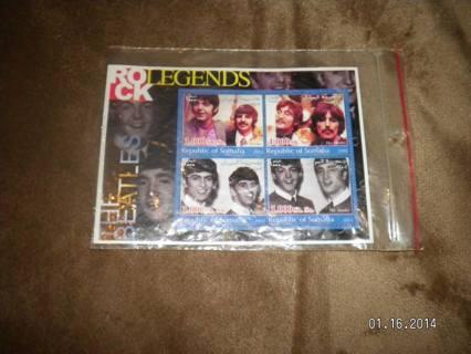 Rare Somalian Beatles Stamps