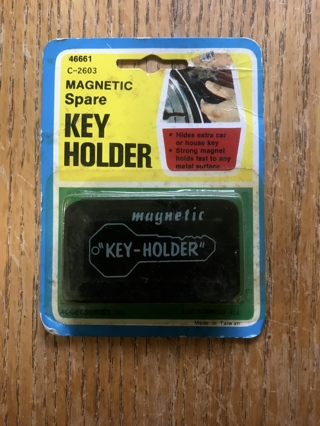 Magnetic Spare Key Holder New in Package