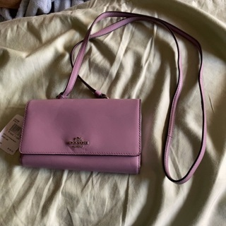 REDUCED  NWT Authentic Coach Leather Shoulder strap hand Bag
