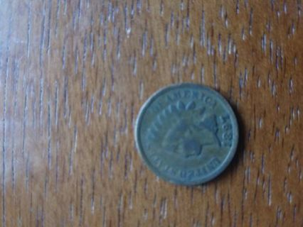 1897 Indian Head One Cent Penny!