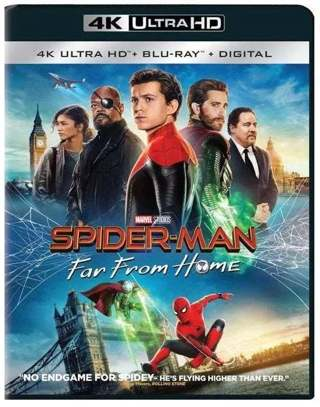 4K! Marvel's Spider-man Far From Home 4K Digital Movie Code, redeems on Movies Anywhere!